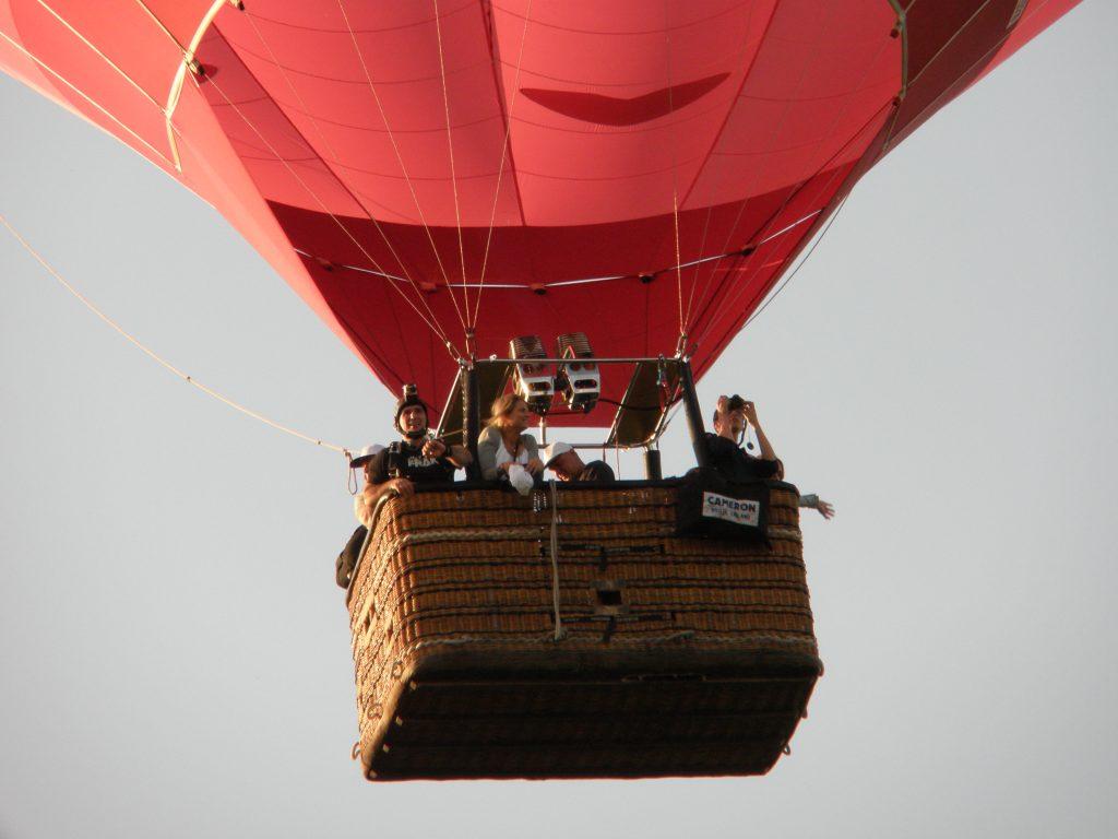 Rode luchtballon