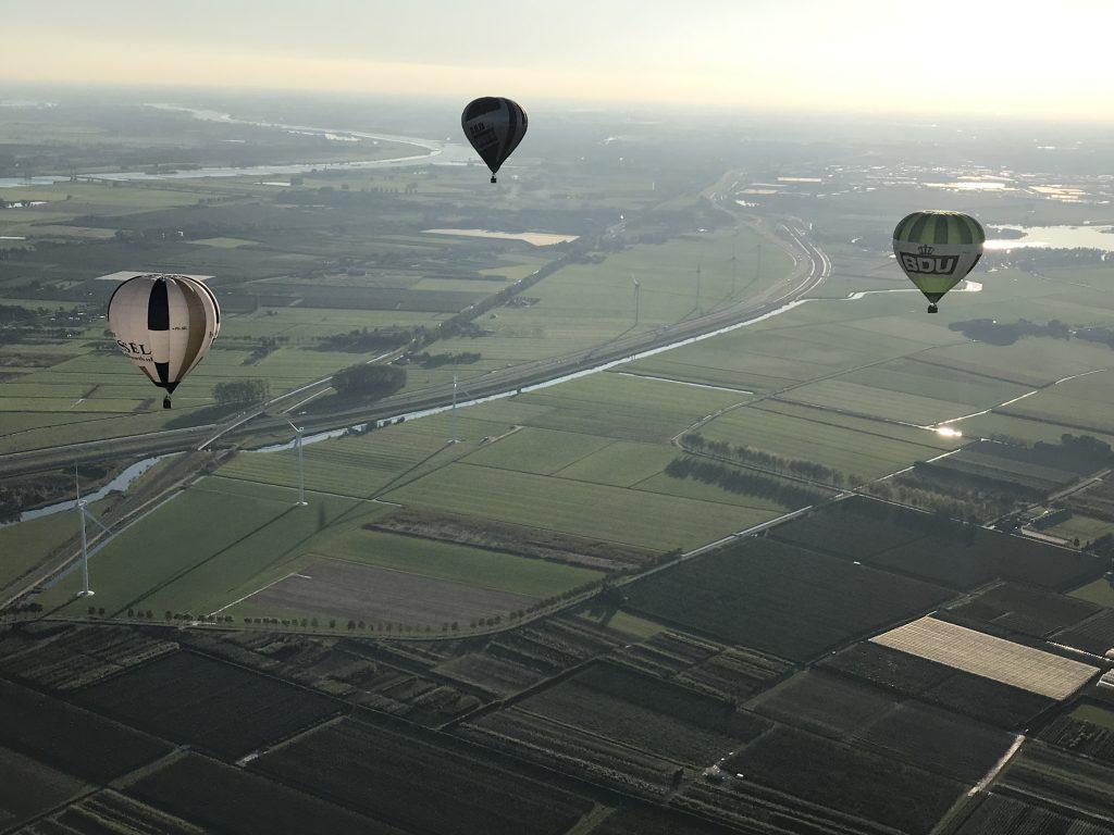 Luchtballonnen van Ballonteam Wessel