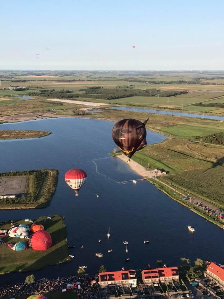 Hoe bestuur je een luchtballon?
