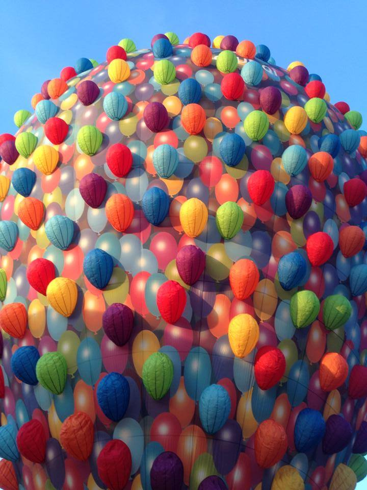 Bedrijfsuitje ballonvaart