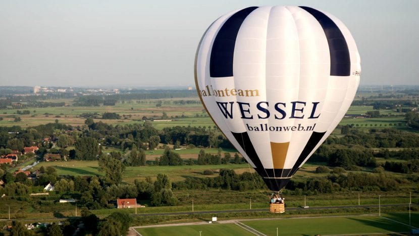Ballonteam Wessel slide