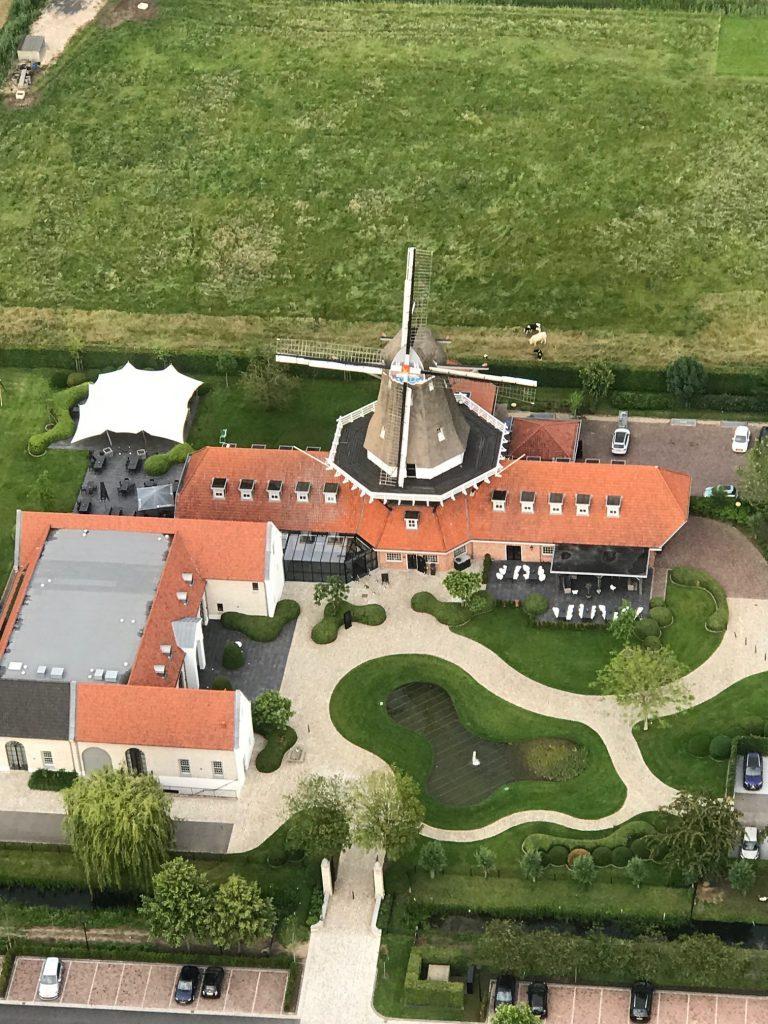 Ballonteam Wessel Bedrijfsvaart van Kesteren naar Elst