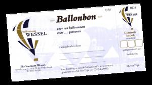 Kadobon Ballonteam Wessel